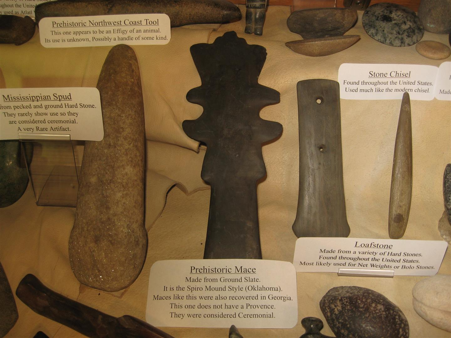 Prehistoric Indian Stone Artifacts Stones And Bones
